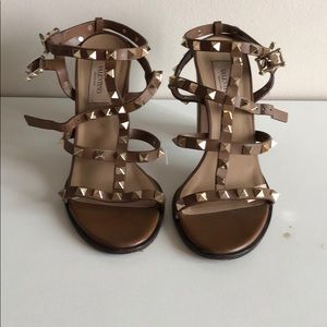 Valentino Strap High Heels